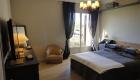2ème chambre avec lit en 160cm et balcon