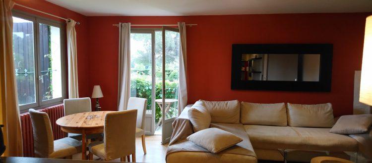 chambre du gîte Pic St Loup au Coquilloux à Montpellier