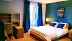 chambre du gîte Pic St Loup aux Coquilloux location de vacances en gîte à Montpellier