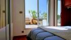 Chambre de la grande Terrasse du Front de Mer location de vacances à la semaine ou au mois sur la plage de Palavas