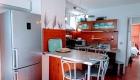 Cuisine de la grande Terrasse du Front de Mer location de vacances à la semaine ou au mois sur la plage de Palavas
