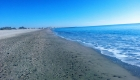 Promenade juste en bas des terrasses du front de mer location de vacances à la semaine ou au mois avec grande terrasse sur la plage de Palavas