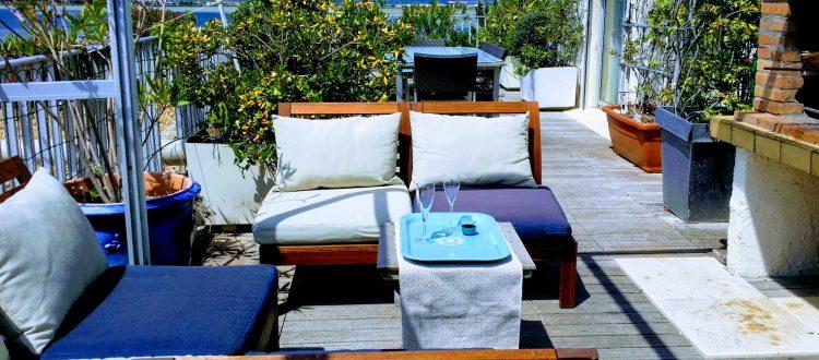 Les Grandes Terrasses du Front de Mer location de vacances à la semaine ou au mois sur la plage de Palavas