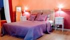 3ème chambre du grand gîte du Golf aux Coquilloux à Montpellier idéal pour 6 personnes
